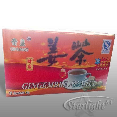 Чай от джинджифил на гранули (дзян ча)