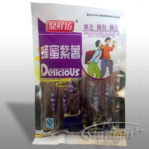 Подсладени резени от китайски ЯМС (Dioscorea batat; азиатски сладък картоф)