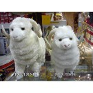 Овца (плюшена) - талисман за дома и офиса за 2015 г. - Голяма